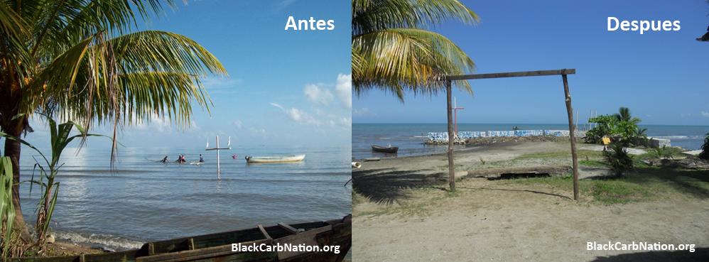 Aumento y variabilidad en el nivel del mar: Comunidades del Caribe no les quedo otra que  empezar la lucha contra el mar (6/6)