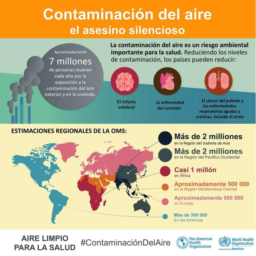 Grafico Contaminación aire